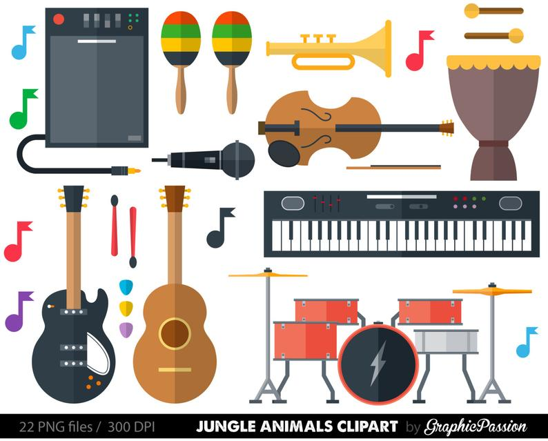 Instruments clipart. Musical instrument clip art