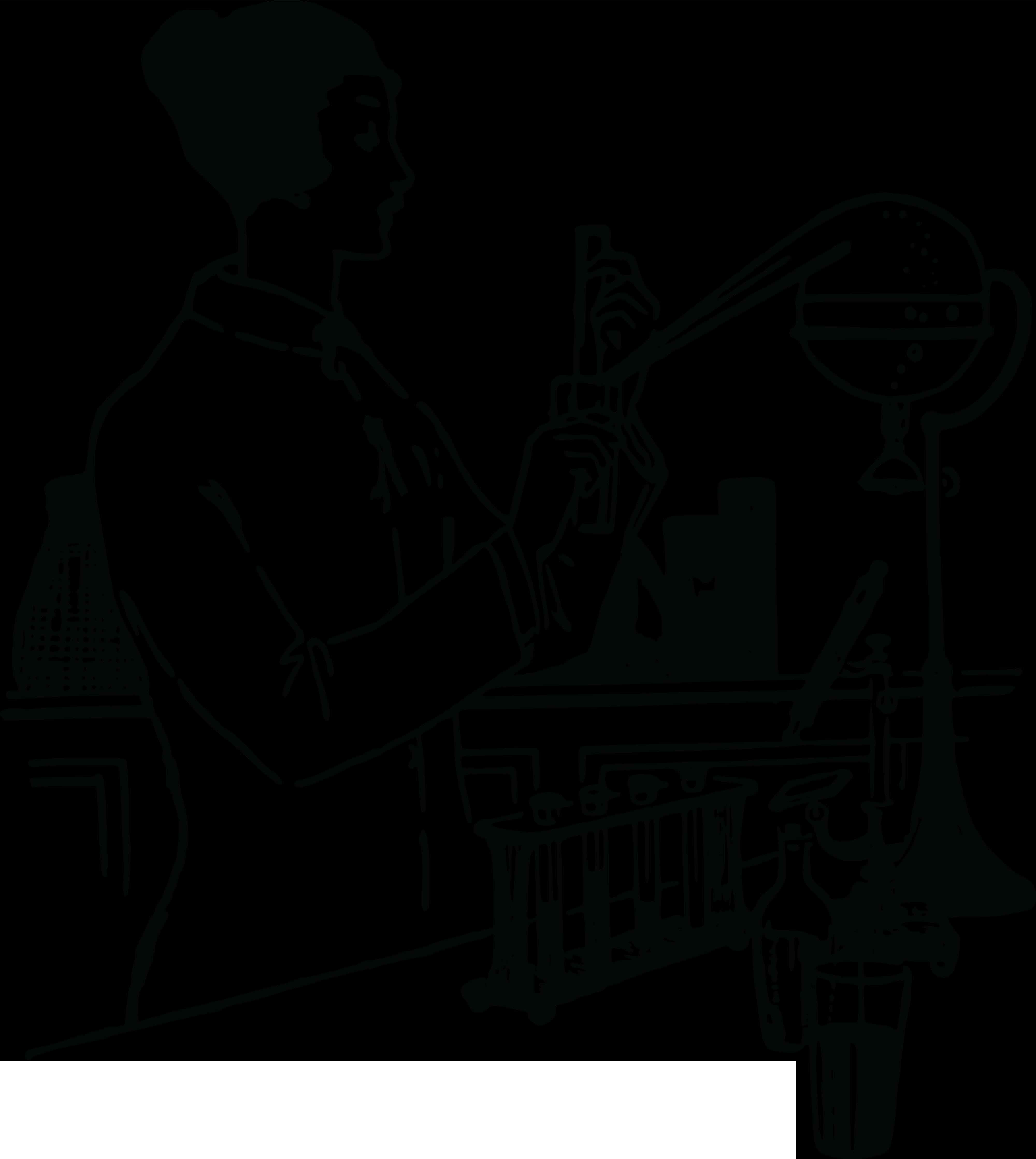 Science person frames illustrations. Lab clipart diagnostic evaluation