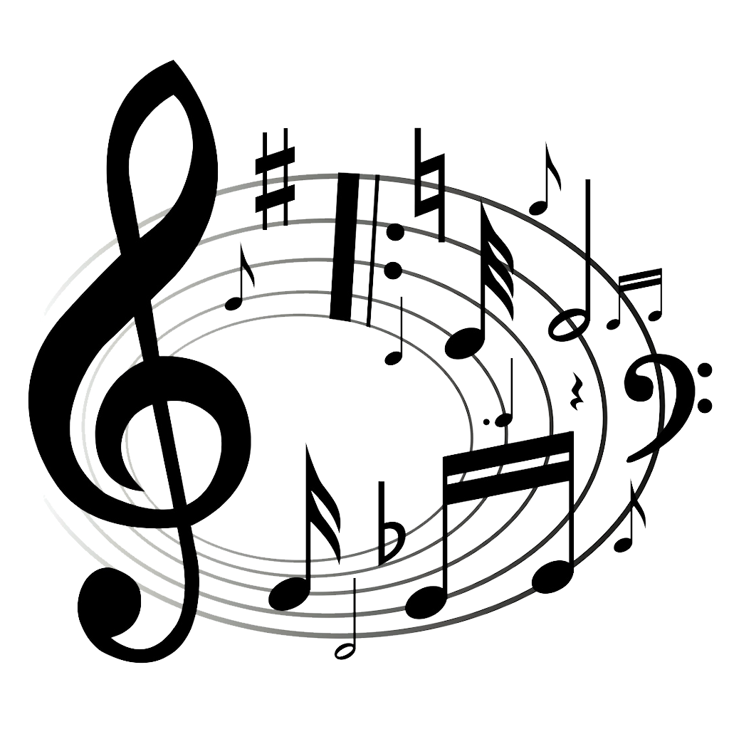 Microphone clipart music note. Cowbell drawing at getdrawings