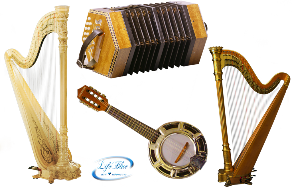 Musician clipart folk music. Musical instruments png by