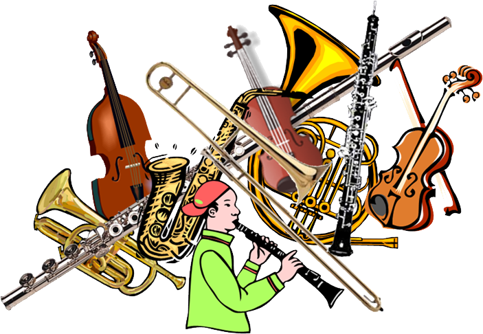Third grade early instrument. Jazz clipart band baja