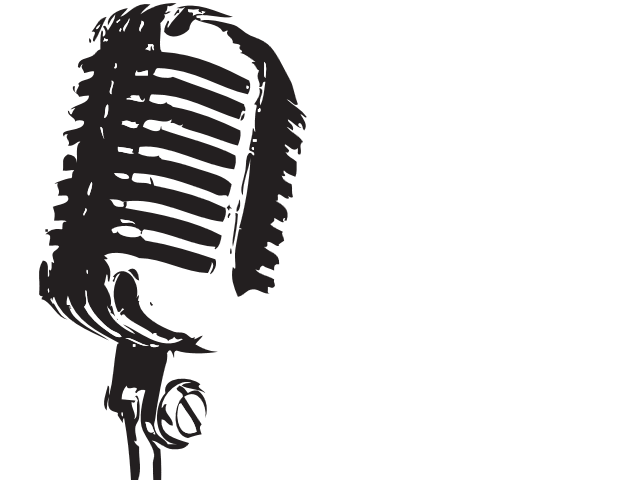 collection of singing. Microphone clipart tumblr transparent