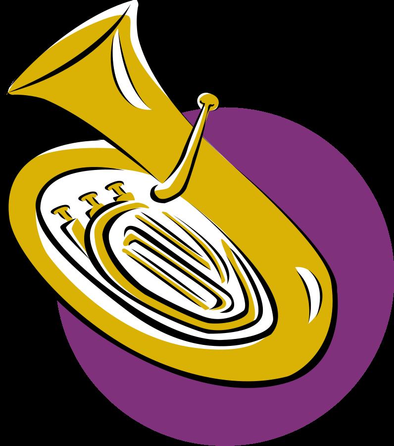 Tool clipart music. Tuba clip art cliparts