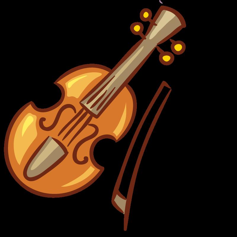 Instruments clipart viola. Violin drawing musical instrument