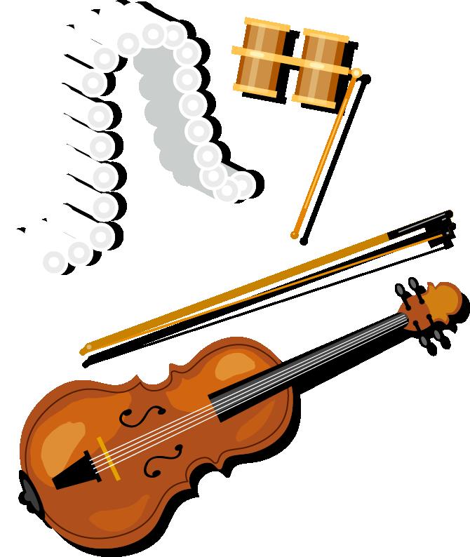 Bass violin violone clip. Instruments clipart viola
