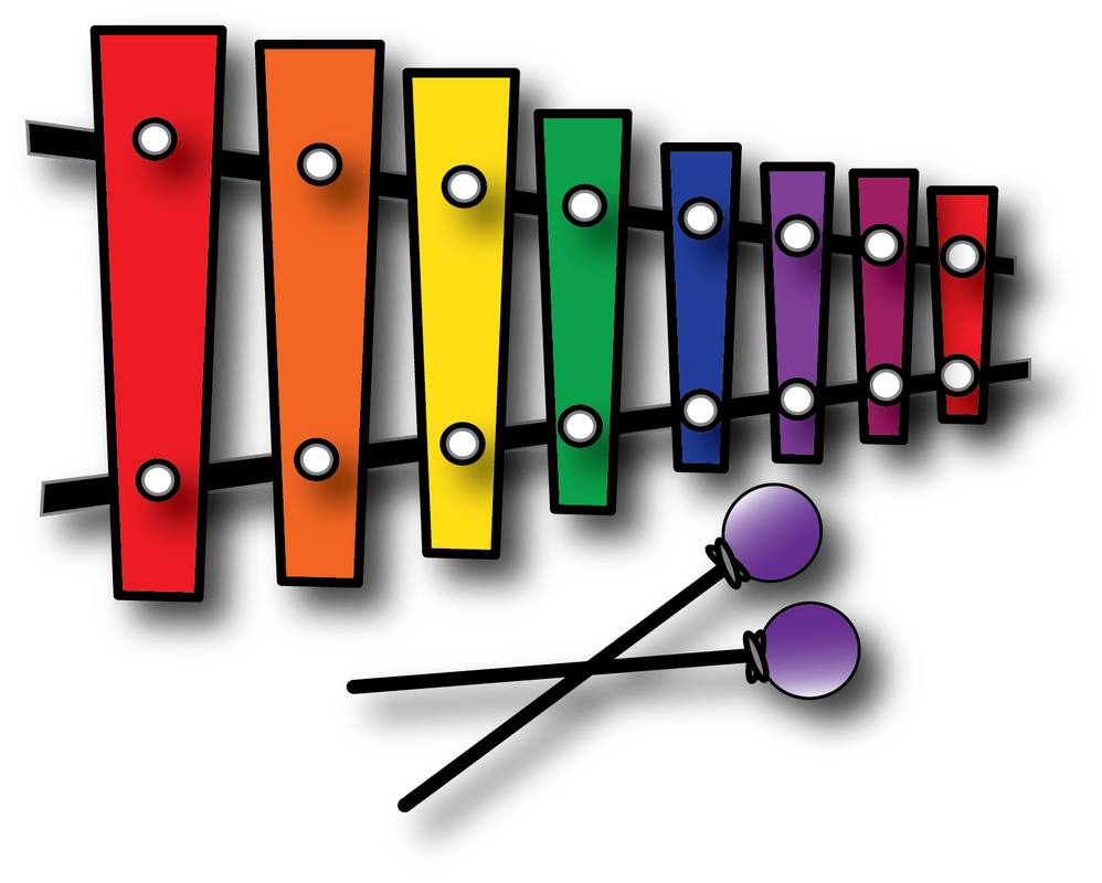 Xylophone clipart percussion instrument. Resources gallery notation