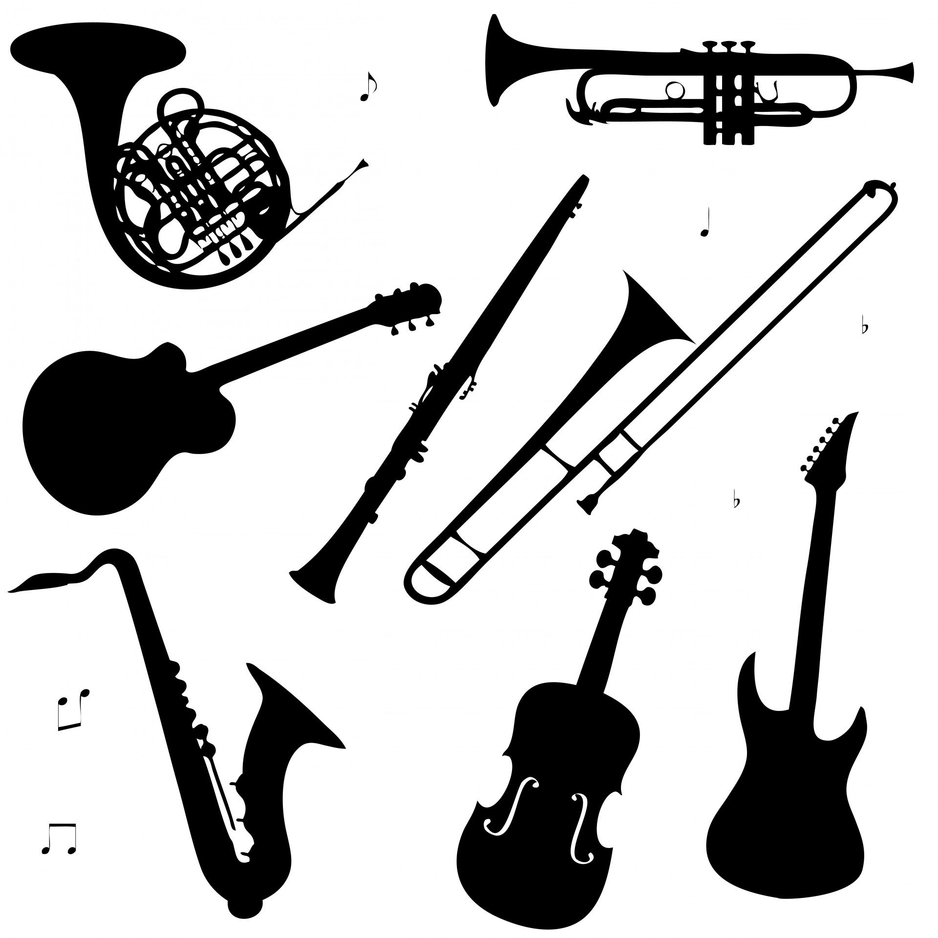 Instruments clipart. Musical free stock photo