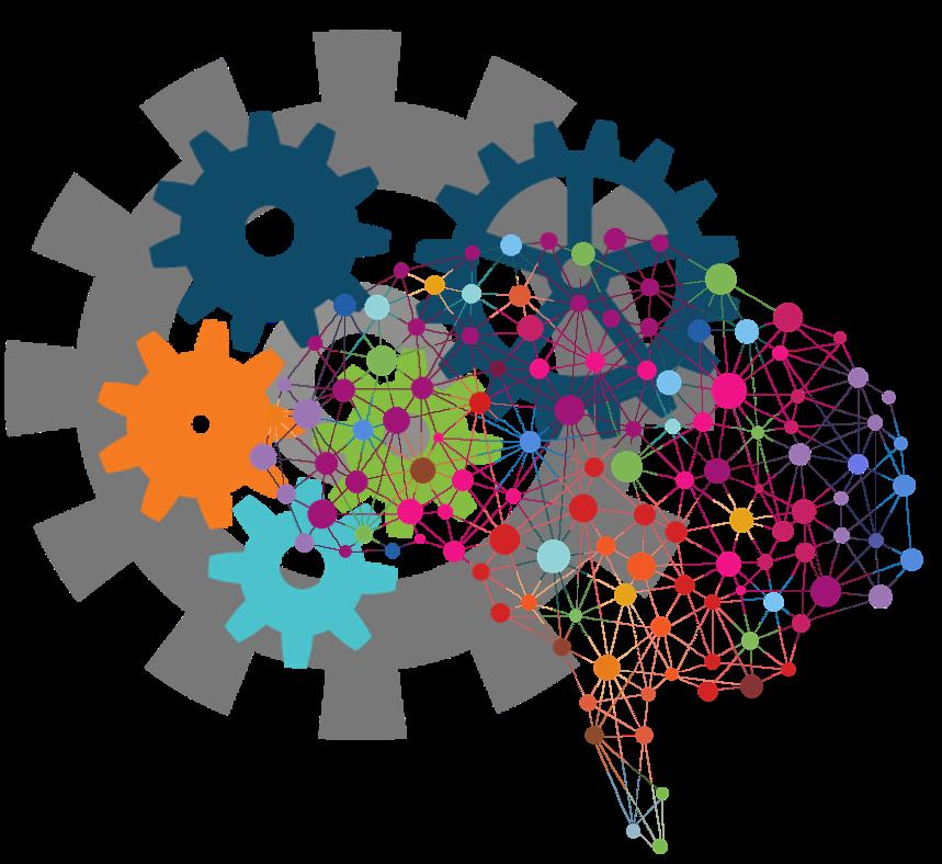 Working clipart manual process. Intelligent cognitive frames illustrations