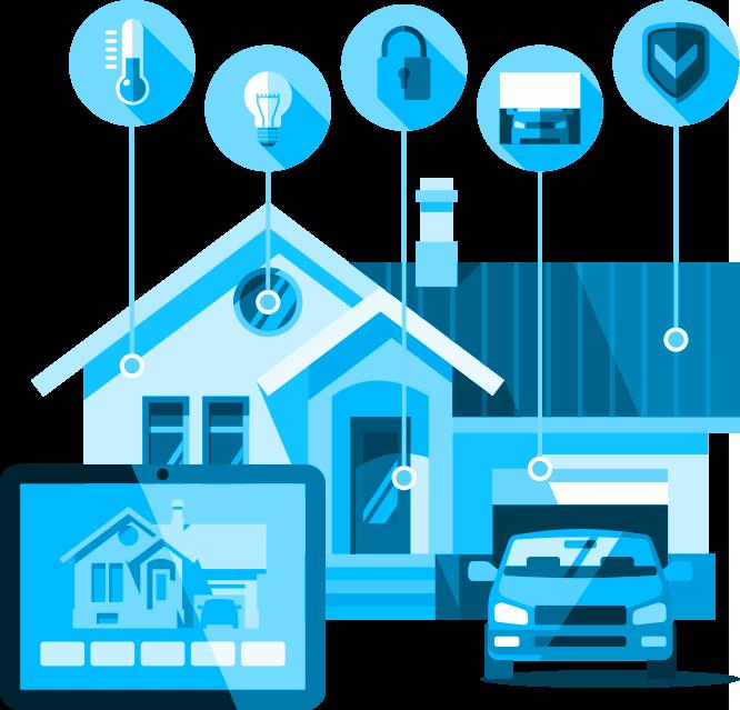 Teamwork clipart disposition. Smart home strategy accenture
