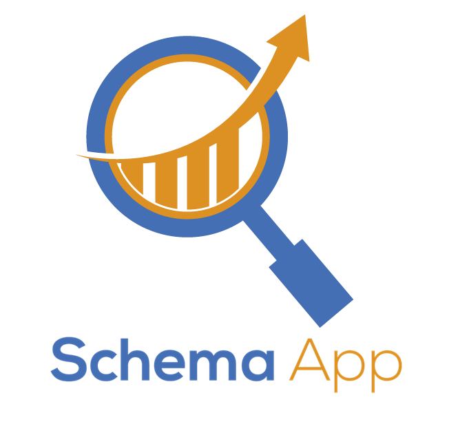 Knowledge clipart schema. App tutorial service page