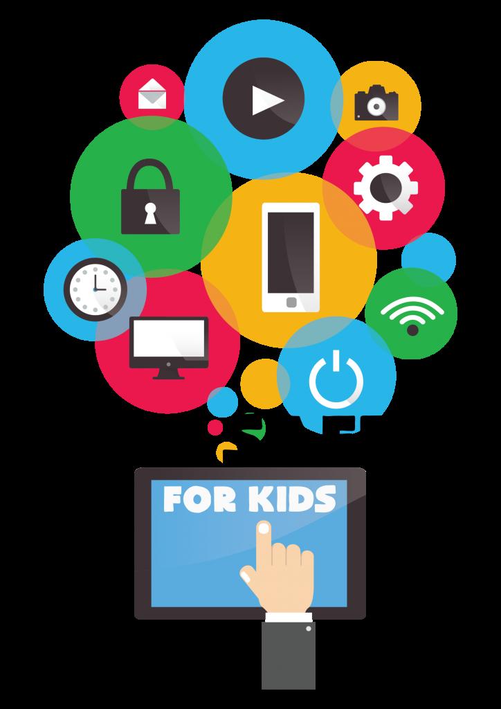 Keeping kids safe online. Website clipart internet safety