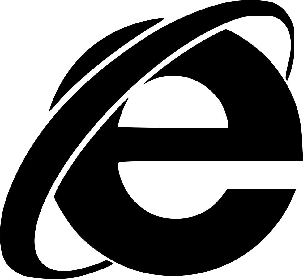 Svg png icon free. Internet clipart internet explorer