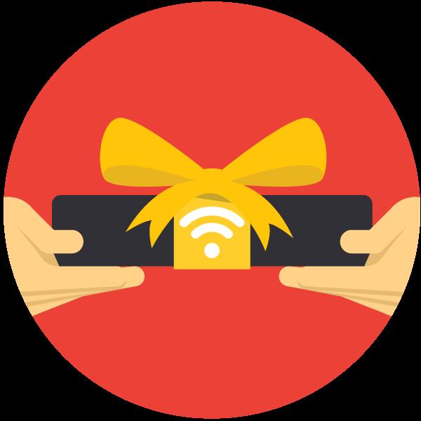 Technology clipart wireless network. Sharing a vpn over