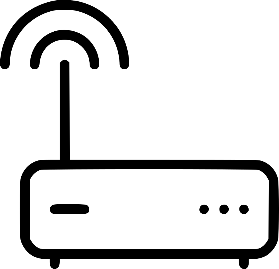 Internet clipart router wifi. Modem hub connection svg