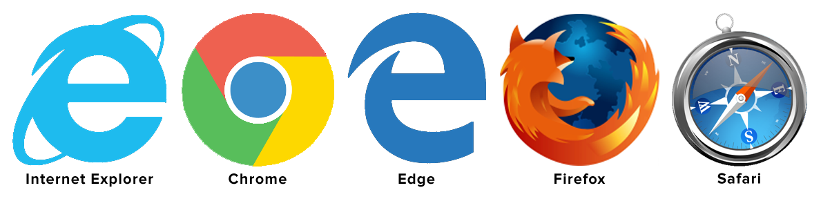 Browser requirements and troubleshooting. Website clipart internet explorer
