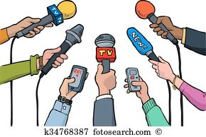 Interview clipart.  collection of reporter