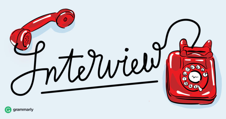Interview clipart.  phone tips that