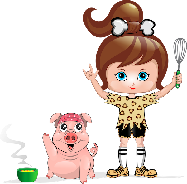 Interview with cavegirl cuisine. Muffins clipart mom cooking