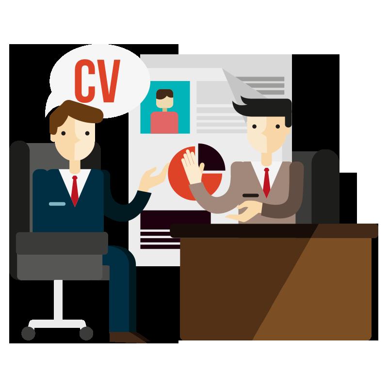 Job clipart job training. Interview career counseling frames