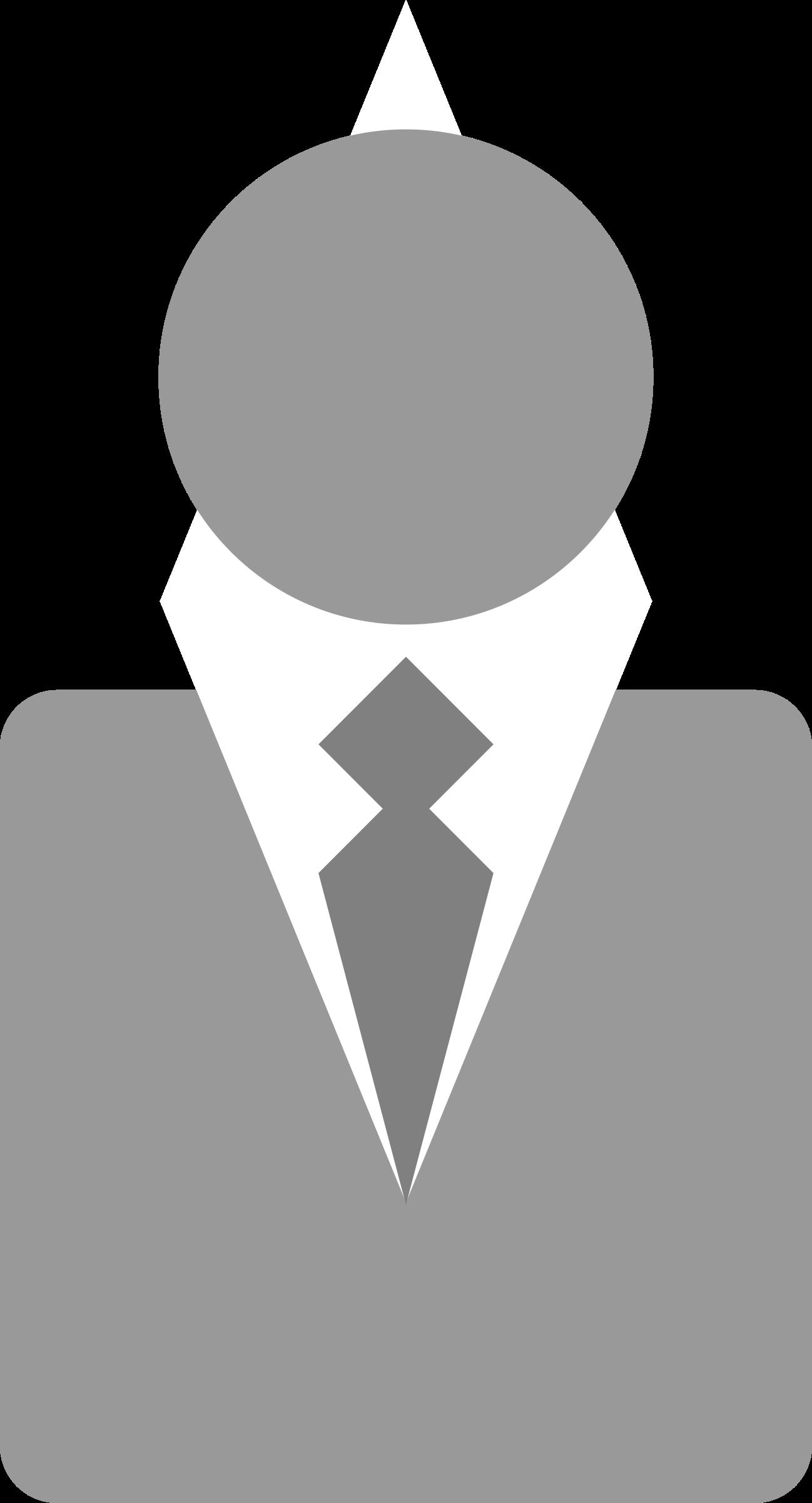 People clipart logo. Business man big image