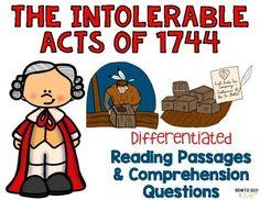 best u s. Intolerable acts clipart colonization