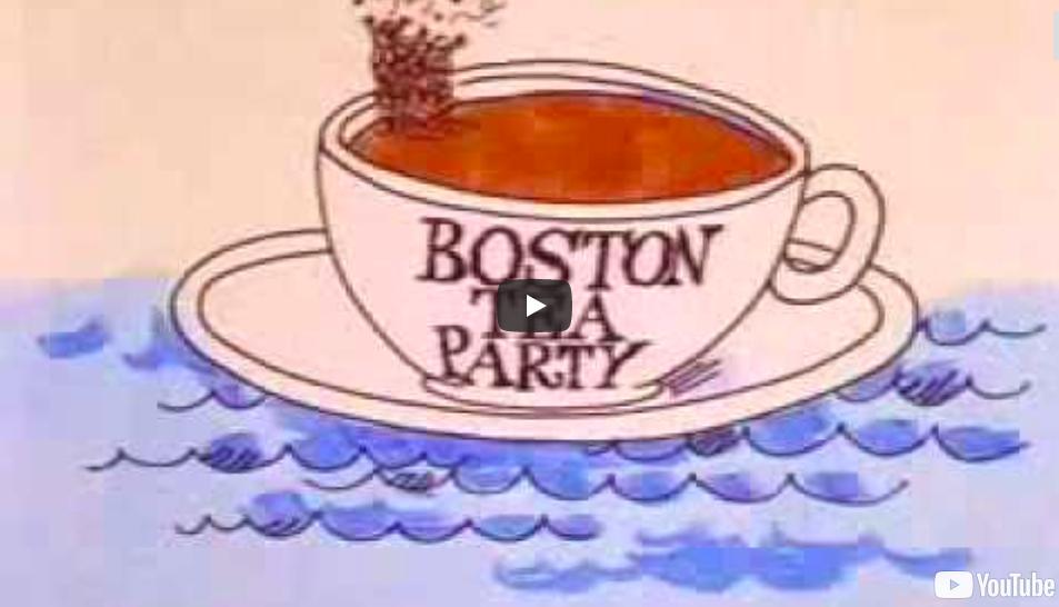 Intolerable acts clipart cup tea. Social studies ms menezes