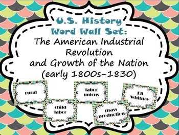 Us history word wall. Intolerable acts clipart encomienda