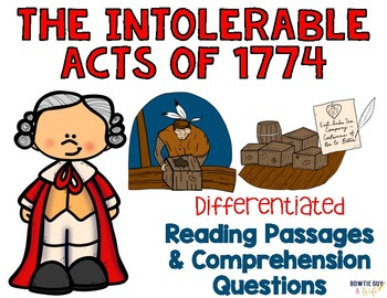 Intolerable acts clipart intolerance. Worksheets teaching resources tpt