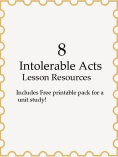 Intolerable acts clipart intolerance.  best images in