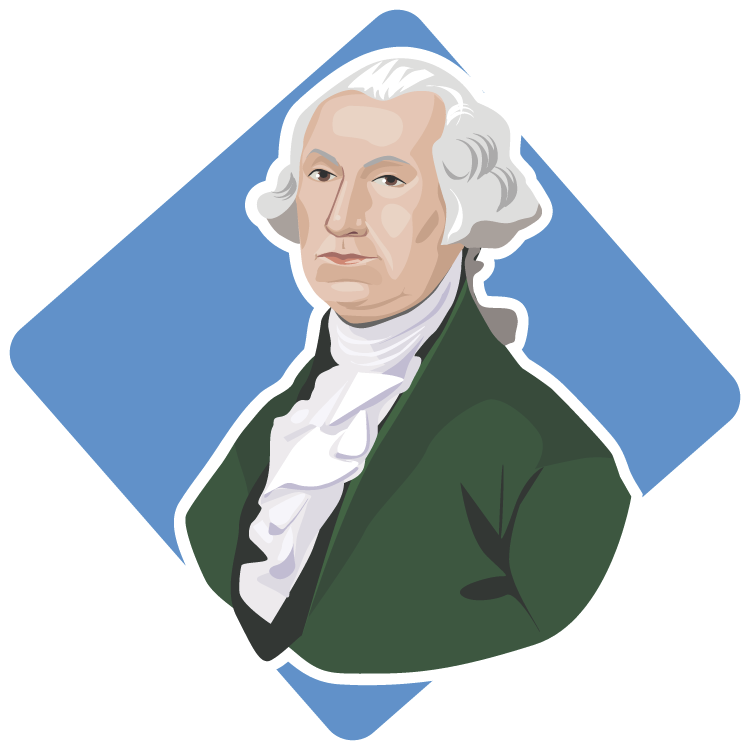 Us history george washington. Intolerable acts clipart liberty