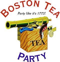 The tea act enraged. Intolerable acts clipart liberty