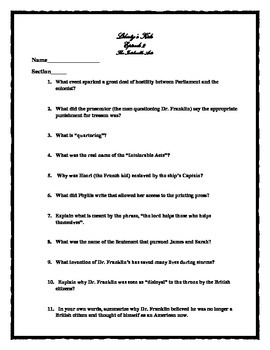 Intolerable acts clipart liberty. Worksheets teaching resources tpt