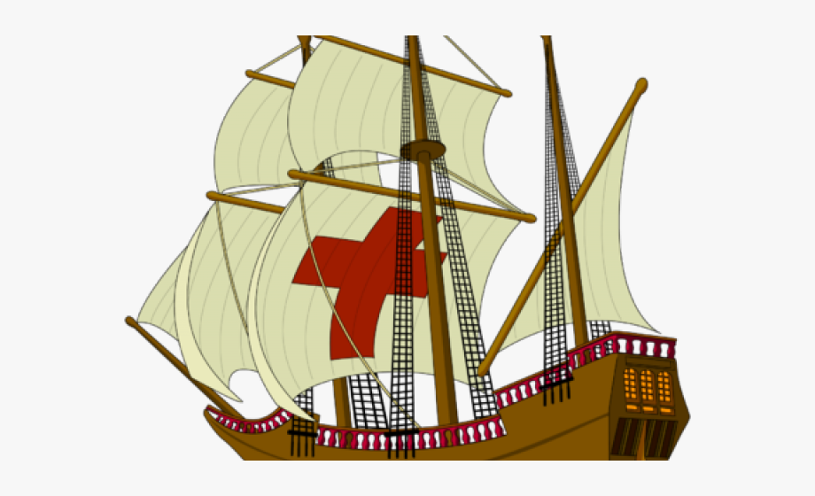 Mayflower clipart sail boat. Ship thanksgiving no background