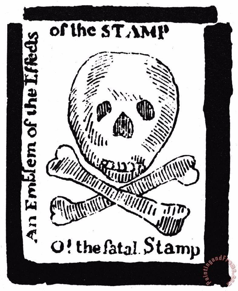 Revolutionary war buildup sutori. Intolerable acts clipart passed