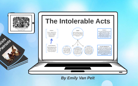 The by on prezi. Intolerable acts clipart poll tax