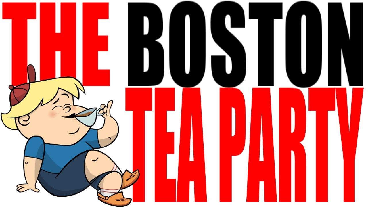 Boston party american revolution. Intolerable acts clipart tea british