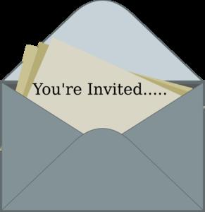 Invitation clipart. Clip art at clker