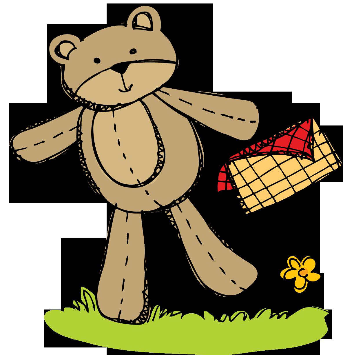 Busy bees freebie teddy. Kindergarten clipart picnic