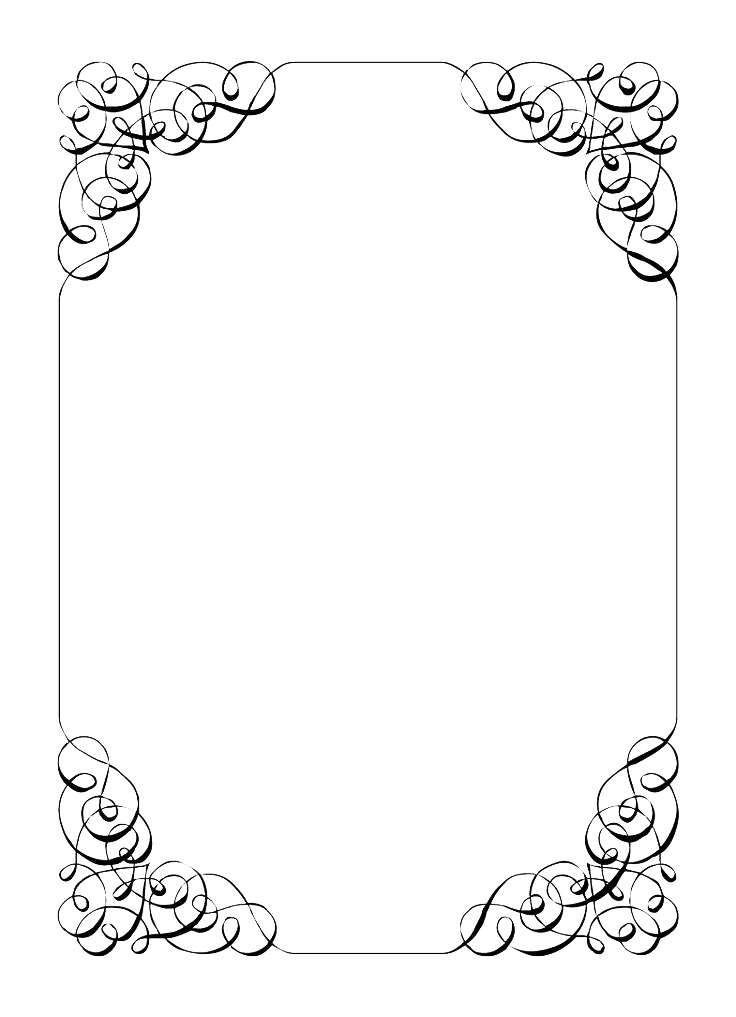 Borders transparent images wedding. Invitation frame png