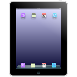 Apple . Ipad clipart