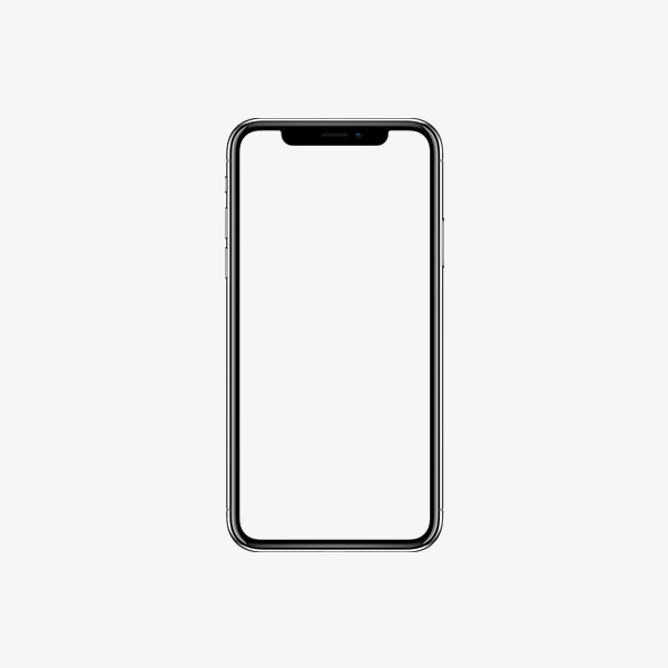 Iphone clipart. X border apple plus