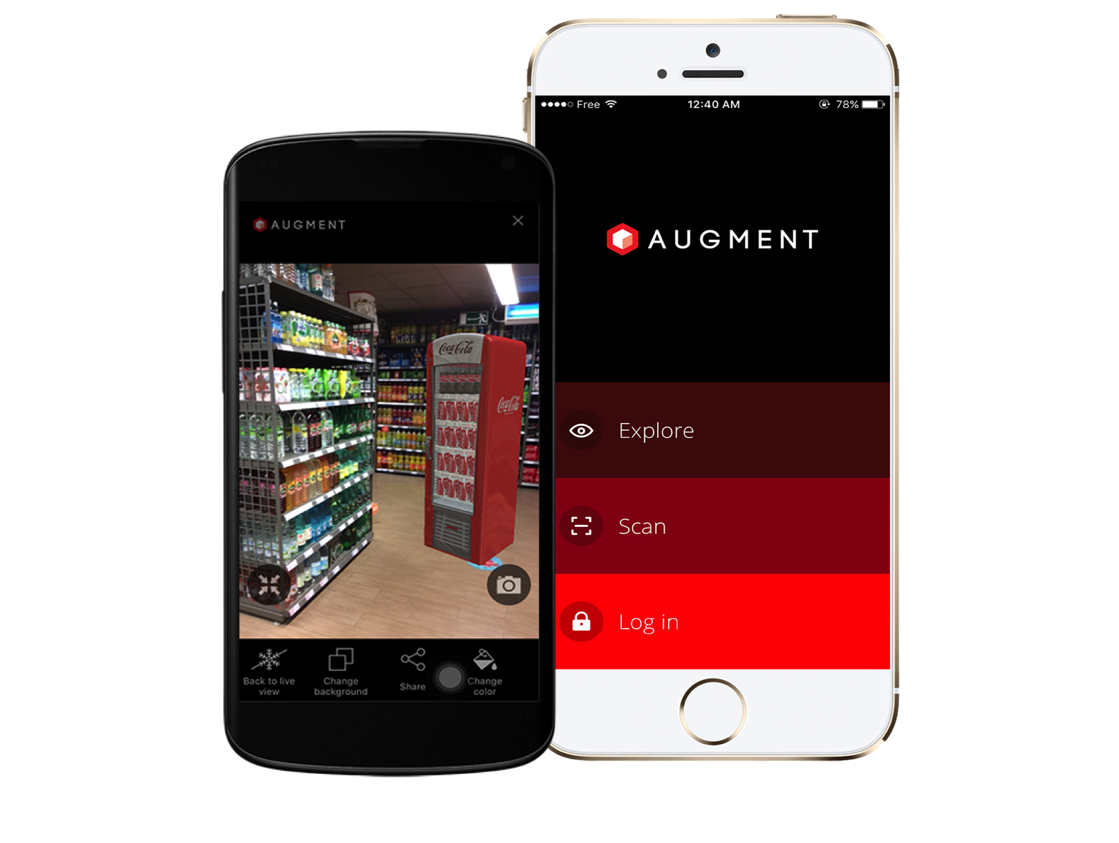 Augmented reality apps augment. Iphone clipart application software