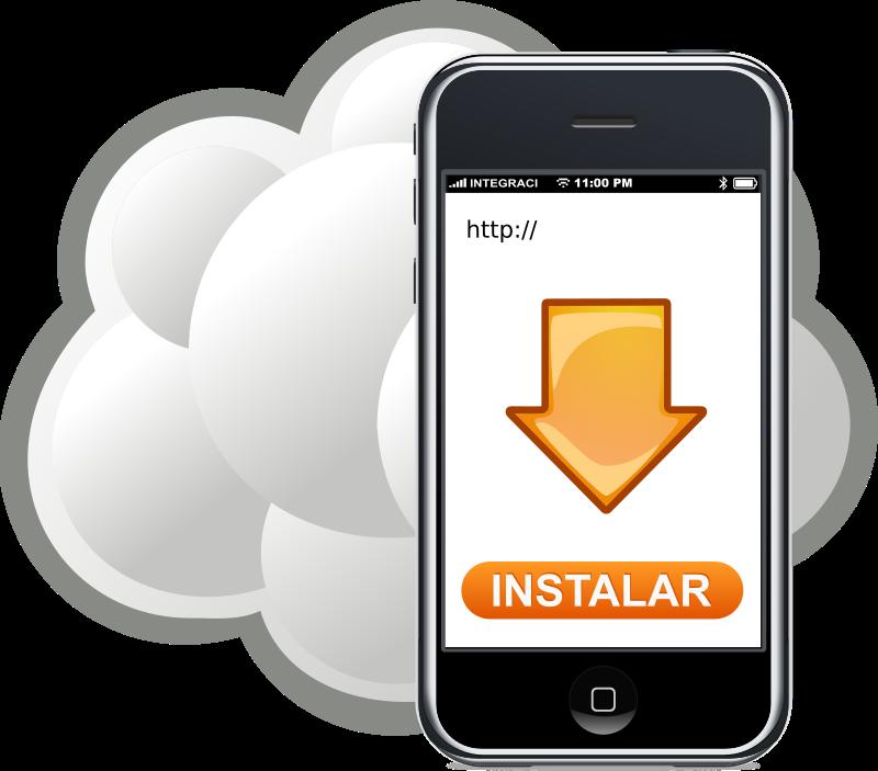Download app medium image. Iphone clipart iphone text