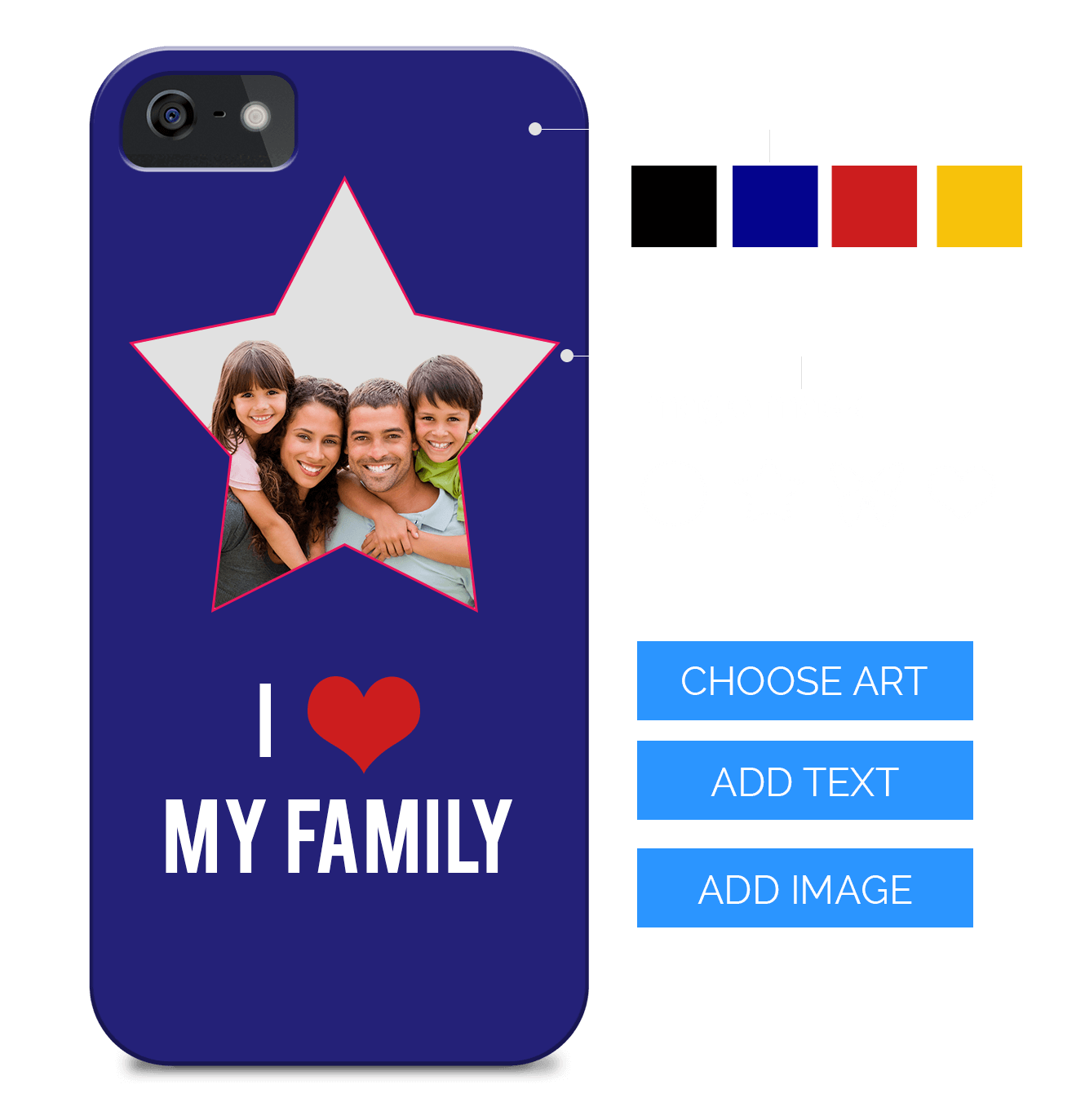 Online design tool software. Iphone clipart phone case