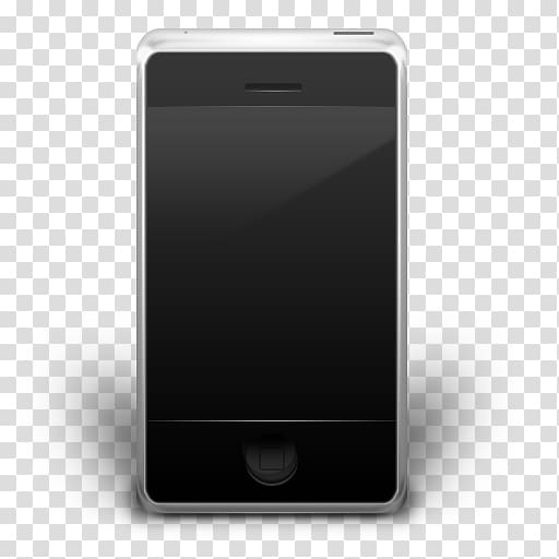Iphone clipart smartphone accessory. Silver and black phone