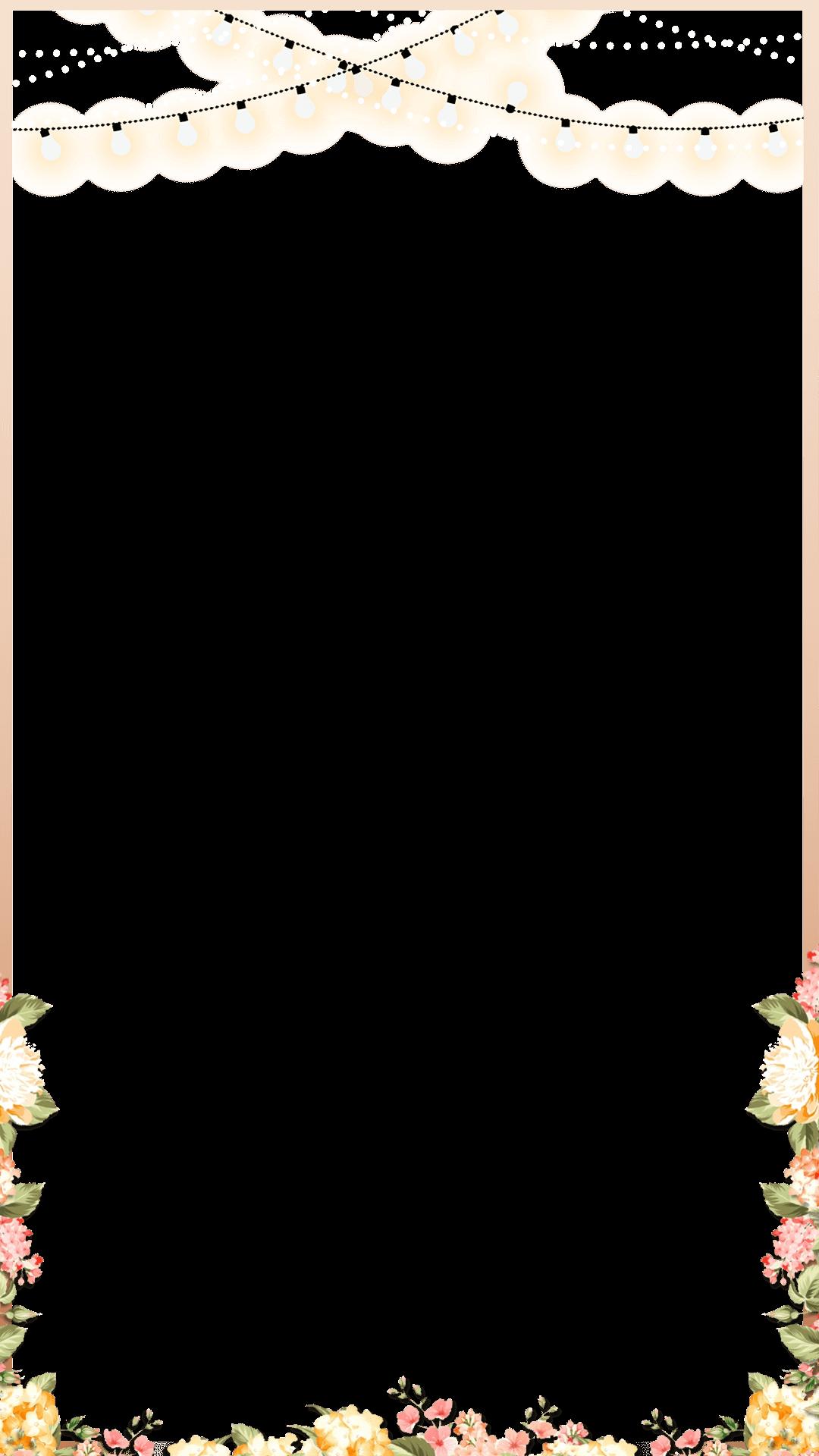 Notepad clipart spring. Elegant rose gold floral