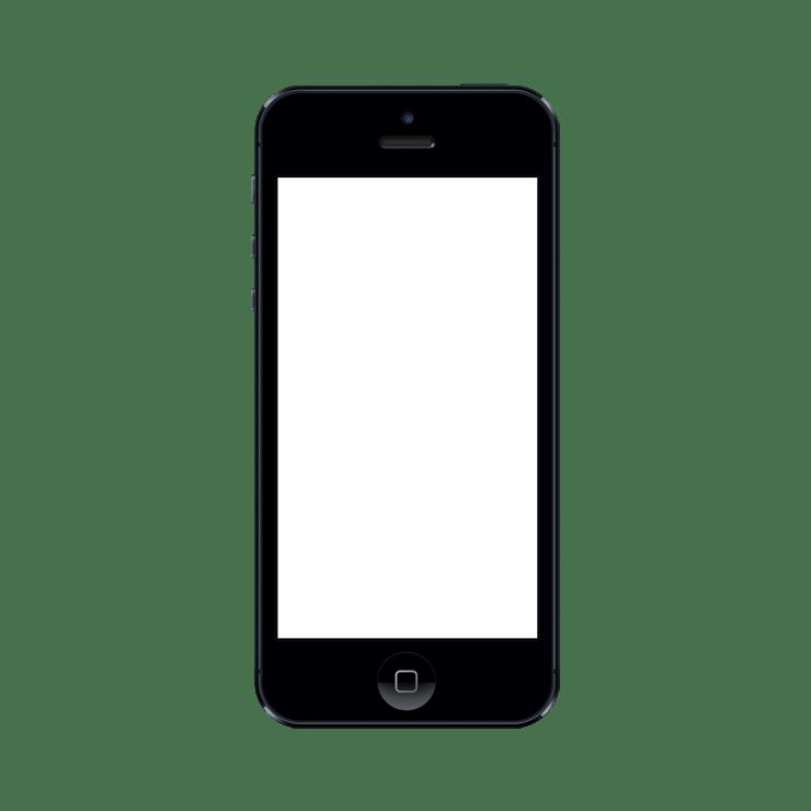 Iphone frame png. Mockuphone cell phone mockup
