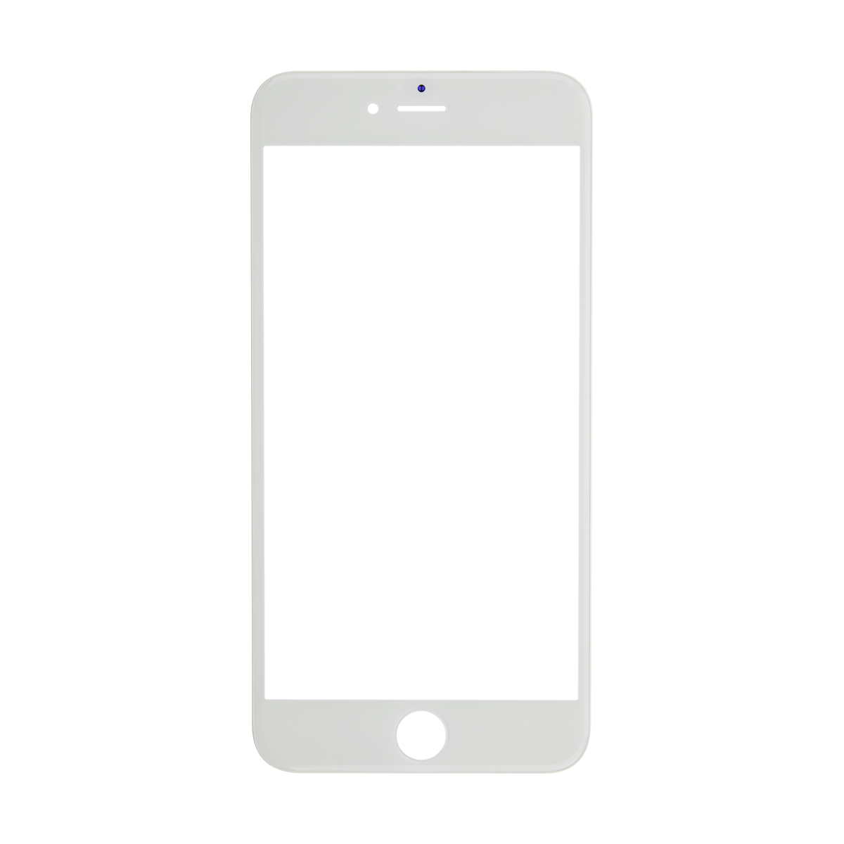 Iphone frame png. Plus white glass lens