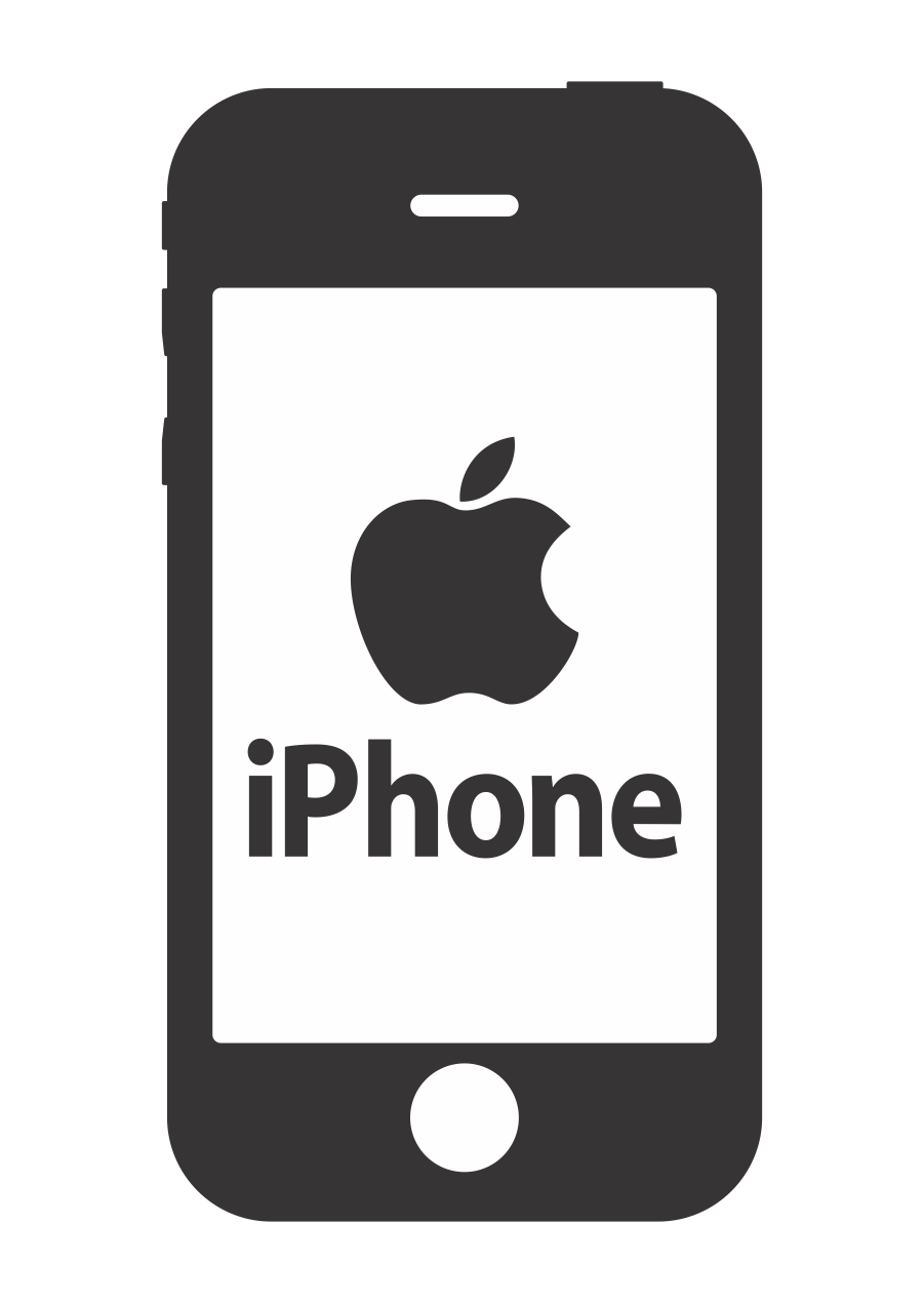Iphone vector png. Free logo download just
