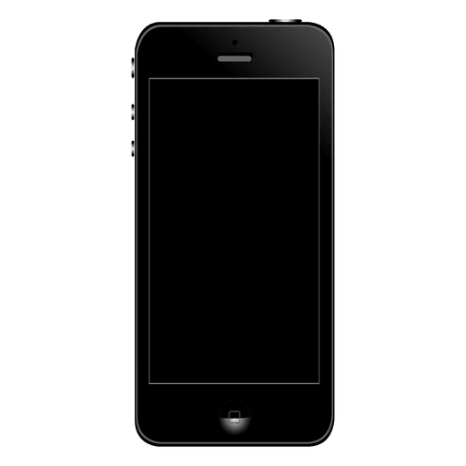 Iphone vector png. Front transparent svg